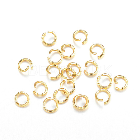 304 Stainless Steel Jump RingsX-STAS-F084-27G-1