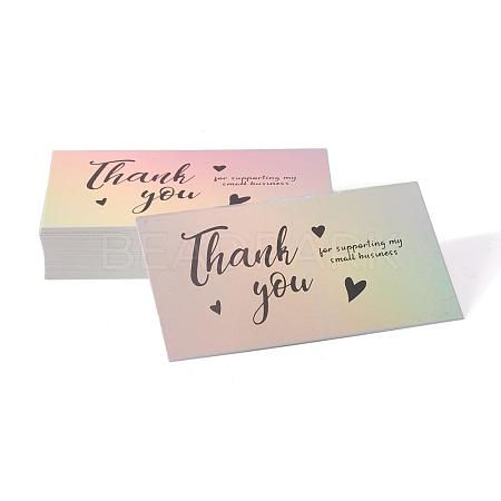 Laser Thank You CardX-DIY-A006-A01-1