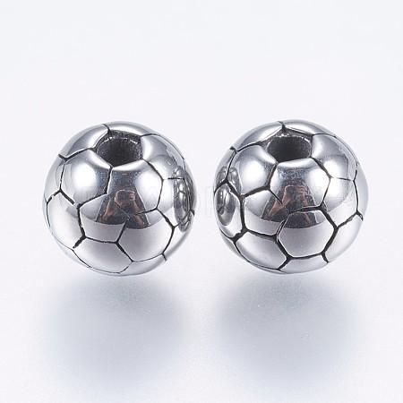 304 Stainless Steel BeadsSTAS-I069-23AS-8MM-1