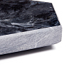 Hexagonal Shape Marble CoastersG-F672-01A-3