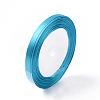 1/4inch(6mm) Blue Satin RibbonX-RC6mmY047-1