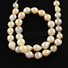 Natural Baroque Pearl Keshi Pearl Beads Strands PEAR-Q004-37-1