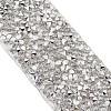 Glitter Resin Hotfix Rhinestone(Hot Melt Adhesive On The Back)OCOR-TAC0002-01-10mm-3