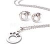 304 Stainless Steel Jewelry SetsSJEW-D094-44P-2