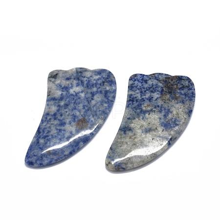 Natural Blue Spot Jasper Gua Sha BoardsG-O175-02-1