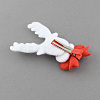 Christmas Party Accessories Supplies Iron with Cloth Reindeer Deer Alligator Hair ClipsPHAR-R116-11-2