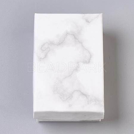 Paper Cardboard Jewelry BoxesCBOX-E012-04A-1