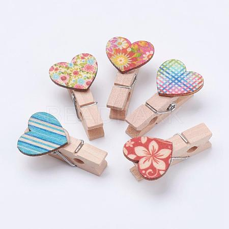 Wooden Craft Pegs ClipsWOOD-L003-29-1