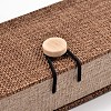 Rectangle Wooden Necklace BoxesOBOX-N013-04-2
