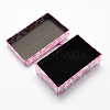 Rectangle Cardboard Jewelry Set Boxes X-CBOX-S012-05-3