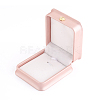 PU Leather Necklace Pendant Gift BoxesLBOX-L005-F02-2