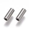 304 Stainless Steel Tube BeadsSTAS-F224-01P-C-2