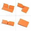 Portable Foldable Plastic Mouth Cover Storage Clip OrganizerAJEW-E034-71B-2