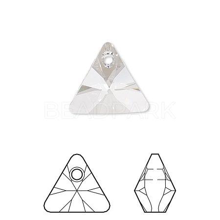 Austrian Crystal Rhinestone PendantX-6628-8mm-001(U)-1