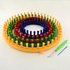 Plastic Spool Knitting Loom for Yarn Cord KnitterTOOL-R075-01-1
