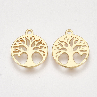 Brass Charms KK-S350-263-1