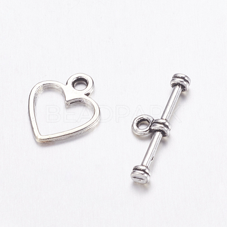 Tibetan Silver Toggle Clasps LF1178Y-NF-1