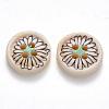 2-Hole Wooden ButtonsX-BUTT-N016-07-2