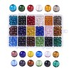 18 Colors Glass Beads GLAA-JP0002-05-8mm-1