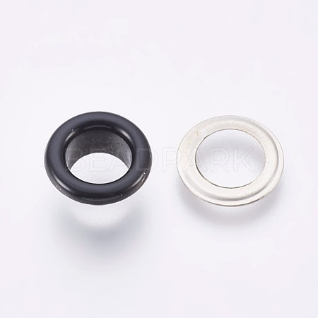 Iron Grommet Eyelet Findings IFIN-WH0023-E02-1