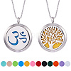 SUNNYCLUE® 304 Stainless Steel Pendant Necklaces NJEW-SC0001-03P-1