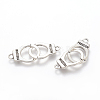 Tibetan Style Alloy Handcuff with Freedom LinksX-TIBE-S236-AS-FF-1