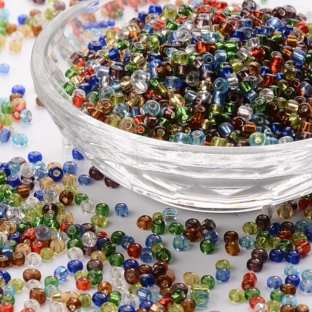 8/0 Glass Seed Beads SEED-A005-3mm-1