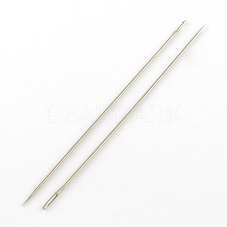Stainless Steel Beading Needles Pins NEED-R002-01-1