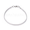 304 Stainless Steel Chain Necklaces & Bracelets SetsSJEW-E334-01B-P-3