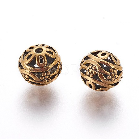 Alloy Beads PALLOY-G131-51AG-1