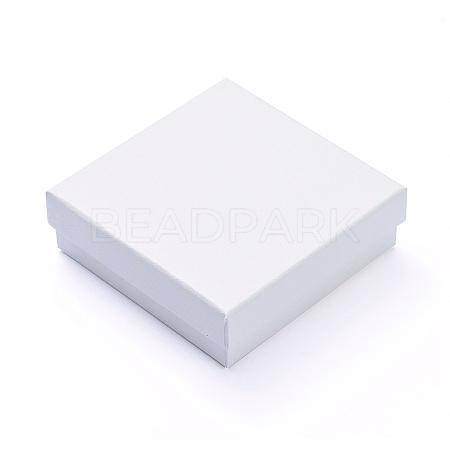Cardboard Gift Box Jewelry Set BoxesX-CBOX-F004-01B-1