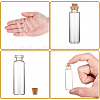 Glass Jar for Bead ContainersX-CON-E008-60x16mm-4