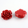 Rose Flower Cinnabar Links X-CARL-Q004-72-2