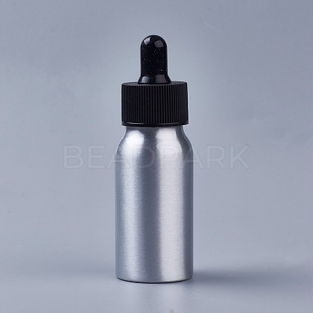 30ml Aluminium Empty Glass Dropper Bottles X-MRMJ-WH0033-01A-1