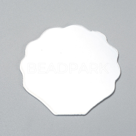 Shell Shape Mirror DIY-WH0170-50-1