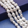 Natural Cultured Freshwater Pearl Beads StrandsPEAR-P060-25C-1