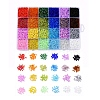 24 Colors 8/0 Glass Seed BeadsSEED-X0052-02-3mm-1