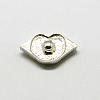 Lip Zinc Alloy Polymer Clay Rhinestones Jewelry Snap ButtonsX-SNAP-R004-K911B-2