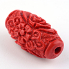 Carved Cinnabar BeadsCARL-Q004-76B-5