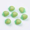 Acrylic Strawberry Shank ButtonsX-BUTT-E025-08-1